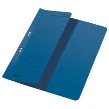 Ösenhefter halber Vorderdeckel, kaufmännische Heftung blau