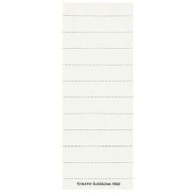 Blanko-Schildchen 1902 weiß