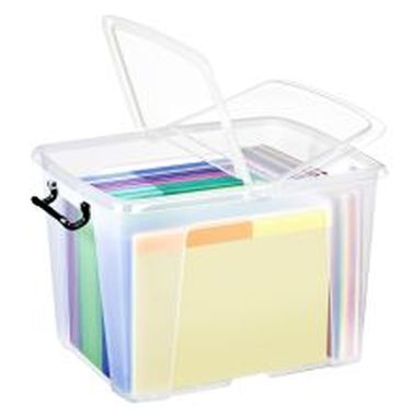 Mehrzweckbox transparent 40 Liter 397 x 329 x 498 mm