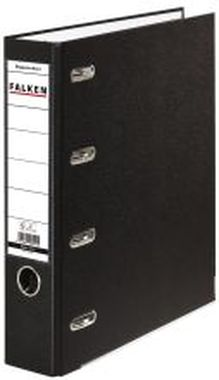 Doppelordner - 2x A5 quer, 70 mm, schwarz