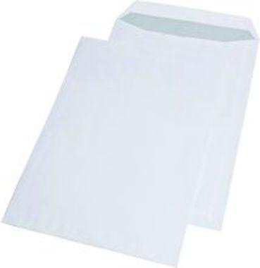 Versandtaschen C4 ohne Fenster selbstklebend weiß