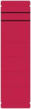 Ordner Rückenschilder kurze, breite Schilder, 192 x 60 mm rot