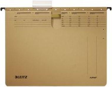 ALPHA® Hängehefter 250 g/Natronkarton kaufmännisch naturbraun