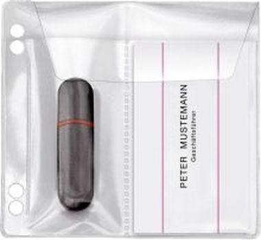 Veloflex USB Stick-Hülle zum Abheften