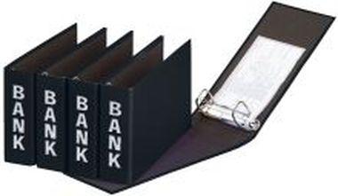 Bankordner Color-Einband A5 schwarz