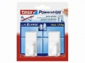 Powerstrips® Haken Large Classic weiß
