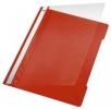 4191 Hefter Standard, A4, langes Beschriftungsfeld, PVC, hellrot