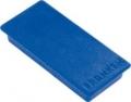 Haftmagnete, eckig blau