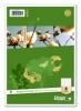 Ringbucheinlagen A4/A5 Größe: A5, 6-fach gelocht 8e: rautiert 50 Blatt
