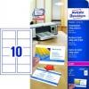 Visitenkarte Quick&Clean Colour Laser Oberflächenstruktur 220g/m²