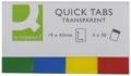 Haftmarker Transparent 20 x 50 mm