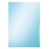Premium Sichthüllen  für A4, mit Kantenschweißnaht blau