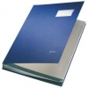 Unterschriftsmappen PP-kaschiert, mit 20 Fächern blau