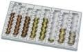 Zählbrett KOMPAKT ohne Metallboden lichtgrau