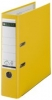 Plastik-Ordner 180° Rückenbreite 80 mm gelb