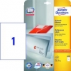 AVERY Zweckform® Universal-Etiketten 6119 weiß