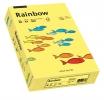 Kopierpapier Rainbow 80g, A4, gelb