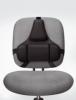 Rückenstütze Professional Series™ - 365 x 375 x 55 mm, schwarz