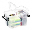 Mehrzweckbox transparent 6 Liter 224 x 182 x 305 mm