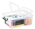 Mehrzweckbox transparent 24 Liter 397 x 202 x 498 mm