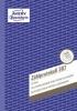 Zählprotokoll - A5, 50 Blatt