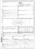 CMR-Frachtbriefe für internationalen Straßengüterverkehr. A4