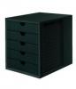 Systemboxen schwarz/schwarz
