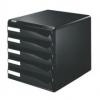Schubladenboxen Post-Set Schubladenboxen schwarz/schwarz