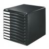 Schubladenboxen Formular-Set Schubladenboxen schwarz/schwarz