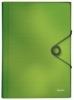 4579 Fächermappe Solid - A4, 6 Fächer, PP, hellgrün