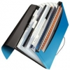 4579 Fächermappe Solid - A4, 6 Fächer, PP, hellblau