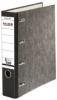 Doppelordner - 2x A5 quer, 70 mm, Wolkenmarmor, schwarz