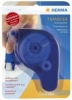 Transfer Klebespender Klebespender  transparent blau