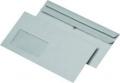 Briefumschläge Recycling DIN lang (220x110 mm) mit Fenster selbstklebend 75g/qm
