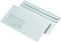 Briefumschläge DIN lang mit Fenster selbstklebend, 1000 Stück