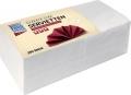 Lunchservietten - 33 x 33 cm,weiß, 250 Stück