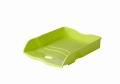 Briefablage Re-LOOP - A4/C4, stapelbar, lemon