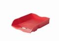 Briefablage Re-LOOP - A4/C4, stapelbar, rot