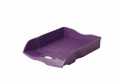 Briefablage Re-LOOP - A4/C4, stapelbar, lila