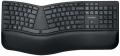 Pro Fit® Ergo-Tastatur - schwarz
