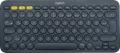 Tastatur K380 Slim Multi-Device - Wireless schwarz