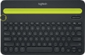 Tastatur Multi-Device K480 Wireless schwarz/grün