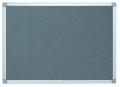 Pinntafel Filz - 60 x 45 cm grau