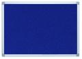 Pinntafel Filz - 90 x 60 cm, blau