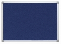 Pinntafel Filz - 60 x 45 cm, blau