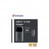 USB-C auf VGA Adapter - Schwarz/Grau