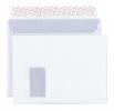 Versandtasche documento C4 plus 120g weiß Kraft mit Fenster