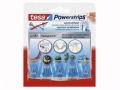 Powerstrips® Deco-Haken transparent