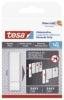 Powerstrips® Klebestreifen für Tapeten und Putz (1kg) - 6 Stück, weiß
