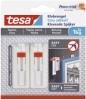 Powerstrips® Klebenagel für Tapeten und Putz (1kg) - 2 Stück, weiß, höhenverstellbar